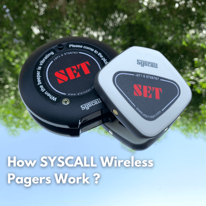 How SYSCALL Wireless Pagers Work ?