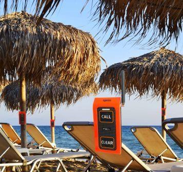beach push buttons set